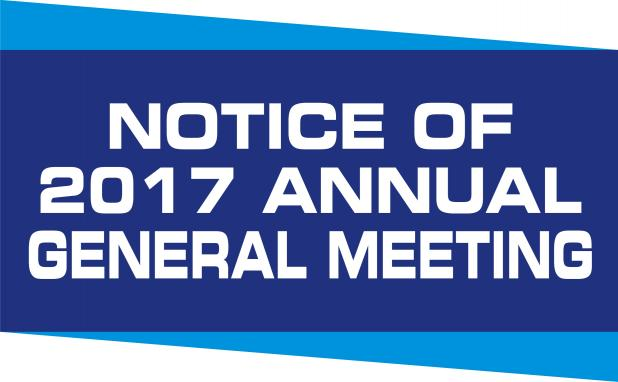 AGM – Saturday May 13